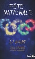 Fête Nationale à Colombes : feu d'artifice
