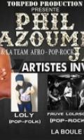 Phil Azoumé Jay en concert