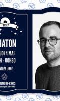 Chaton au Bar Demory-Paris