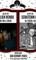 Julien Renou & Scratchin Beg aux platines