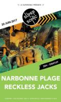 Narbonne Plage • Reckless Jacks / Supersonic - Free