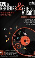 Expo de Créateurs et Fête de la Musique avec J'veux du Soleil