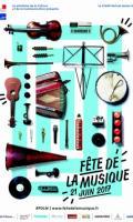 Animation accordéon avec Christian Frulio - Fête de la Musique 2017