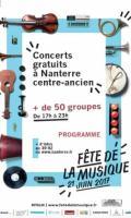 Scène musiques du monde Place du Castel Marly - Fête de la Musique 2017