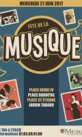 Après les portes ouvertes du Conservatoire de Meaux, les élèves donneront un concert dans le Jardin Pierre Tabart - Fête de la Musique 2017