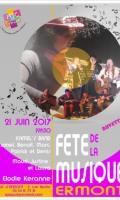 Kamel's Band / Maud-Justine et Laura / Elodie Keranne - Fête de la Musique 2017