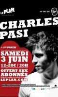 CHARLES PASI + 1ère Partie