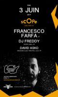 Scope Label Night #2 Francesco Farfa, Dj Freddy, David Asko
