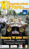 10e Traversée de Paris estivale en voitures anciennes