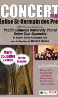 Concert Gratuit Exceptionnel/Musique Sacrée à Saint Germain des Prés