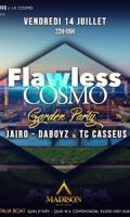 Flawless cosmo x Full outdoor garden party x Madison Beach x Paris