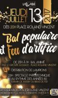 Bal pop et Feu d'artifice à Villabé