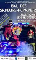 Bal des Pompiers du 14 juillet à Montigny Le Bretonneux