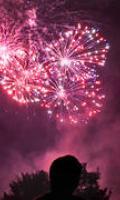 Fête Nationale à Essart le Roi : feu d'artifice et lampions