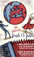 Fête Nationale à Bagneux : Feu d'artifice et Bal populaire