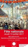 Fête Nationale à Montrouge : bal pop et feu d'artifice