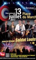 Fête Nationale au Bourget : concert et feu d'artifice