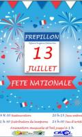 Fête Nationale à Frépillon : Feu d'artifice et bal