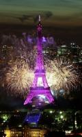 Feu d'artifice du 14 juillet Paris 2017