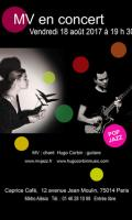 MV & Hugo Corbin en concert