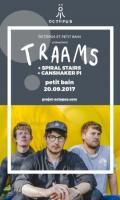 Traams + Spiral Stairs + Canshaker Pi