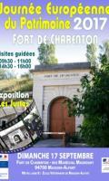 Fort de Charenton - Journées du Patrimoine 2017
