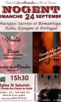 Musiques sacrées et romantiques d'Italie, Espagne et Portugal
