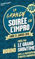 LA GRANDE SOIREE DE L'IMPRO - FESTIVAL D'HUMOUR DE PARIS