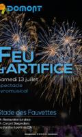 Festival de l'été - Feu d'artifice à Domont