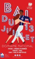 Bal et feu d'artifice du 13 juillet - Fête Nationale à Saint Germain-en-Laye