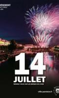 Fête Nationale à Pontoise : feu d'artifice, concert...