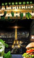 AFTERWORK HAMBURGER PARTY SUR LES TOITS DE PARIS (CLUB INTERIEUR + TERRASSE)