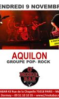 AQUILON groupe de rock aux accents pop