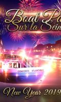 PARIS BOAT PARTY NEW YEAR SUR LA SEINE 2019 ( BATEAU BUFFET FETE )