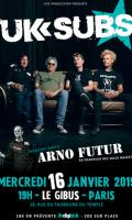 UK Subs / Arno Futur