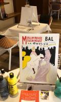 Peindre à la manière des Artistes de Montmartre: Toulous-Lautrec