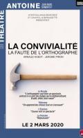 LA CONVIVIALITE - LA FAUTE D'ORTOGRAPHE