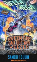 THE HELLA MEGA TOUR - GREEN DAY - FALL OUT BOY - WEEZER