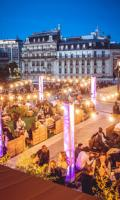 LA TERRAZZA MIAMI VICE SUR LES TOITS DE PARIS (GRATUIT/ TERRASSE GÉANTE/ BURGERS/ ROOFTOP/ MOJITOS)