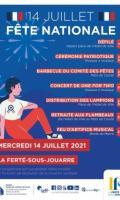 Défilé / Feu d'artifice du 14 juillet à La Ferté-sous-Jouarre