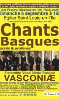 Chants Basque Ensemble VASCONIÆ