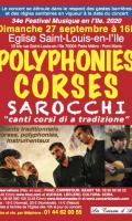 Polyphonies Corse Ensemble Sarocchi