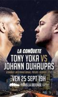TONY YOKA VS JOHANN DUHAUPAS - LA CONQUETE
