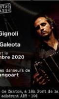 CUARTETO GIGNOLI & SEBASTIAN GALEOTA avec l'intervention de la Cie TANGOART