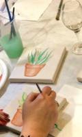 Peindre son Triptyque Cactus