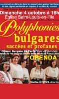 POLYPHONIES BULGARES