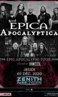 EPICA + APOCALYPTICA - THE EPIC APOCALYPSE TOUR 2020