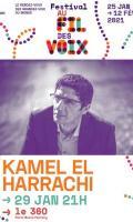 KAMEL EL HARRACHI - FESTIVAL AU FIL DES VOIX 2021
