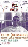 FLEM PRESENTE NOMADES - FESTIVAL AU FIL DES VOIX 2021