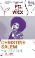CHRISTINE SALEM - FESTIVAL AU FIL DES VOIX 2021